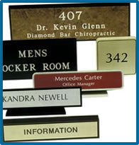 Architectural Engraved Signs