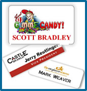 Sublimated Name Badges