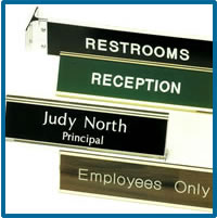 Traditional Engraved Signs